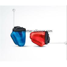Tampões de ouvido de proteção de ouvido de isolamento de som de silicone