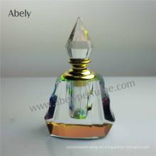 Botellas de perfume de vidrio para el aceite de perfume