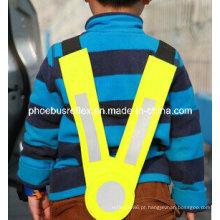 V em forma de colete de segurança crianças