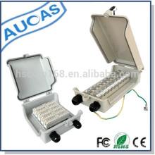 Teléfono de proyecto de telecomunicaciones montaje en pared caja de distribución / caja dp para módulo de corona o bloque de terminación stb oferta de fábrica