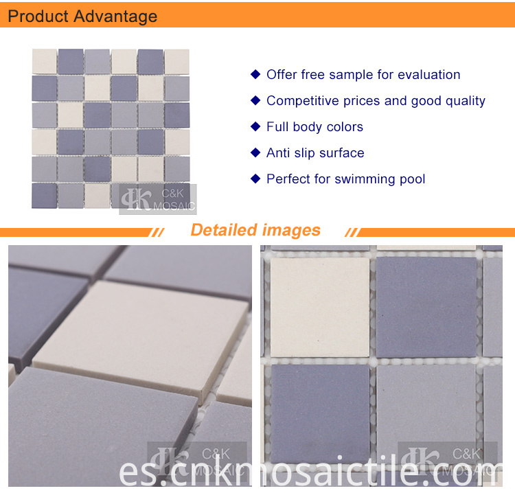 Purple Ceramic Mosaic Tile for Wall
