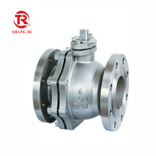China Factory Best Sale Steel Class150 300Lb PTFE  Seat API Flange Floating Ball Valve
