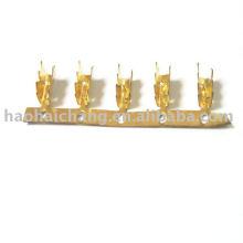 Estampagem de clipes automáticos de latão e terminais de conexão