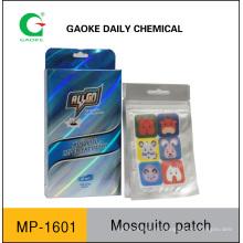 Fabricante de pegatinas para mosquitos: sin plaguicidas