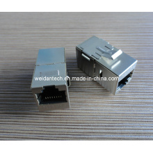 Cat5e CAT6 RJ45 FTP Coupler (WD6B-001)