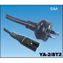 SAA australiana cables con conector