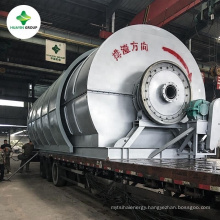 Different capacity 10T capacity used oil distillation plant for synthetic diesel