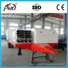 Machine de formage de rouleaux de toit à courbure professionnel / machine à revêtir