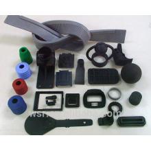 go kart rubber black silent block