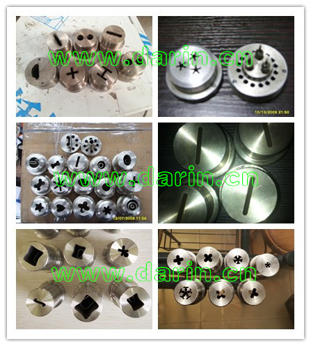 single screw extruder mold