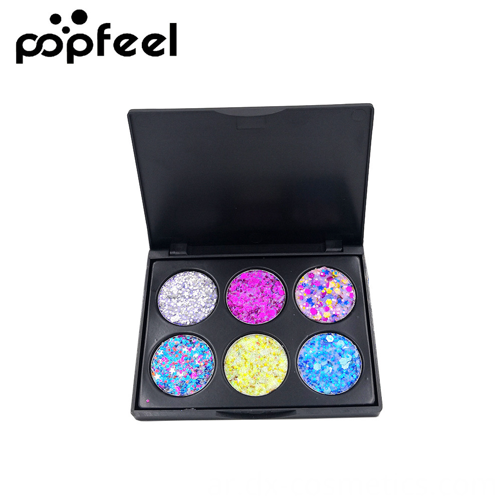 6 Colors Gligger Eye Shadow 8