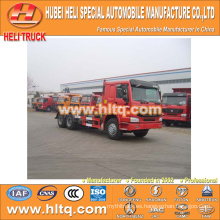SINOTRUK HOWO 16CBM 6x4 336hp gancho brazo basura camión precio de fábrica fábrica directa excelente calidad