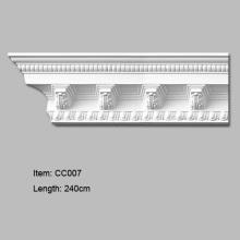 Декоративный угловой молдинг высокой плотности