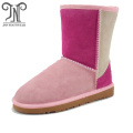 Custom Women Winter half Sheepskin Boots