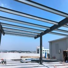 80x100 costo de construcción de metal Fabricación de acero estructural