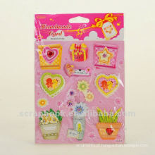 adesivos de quarto decorativo bonito dos desenhos animados para crianças
