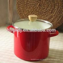 olla de esmalte de alta calidad personalizada