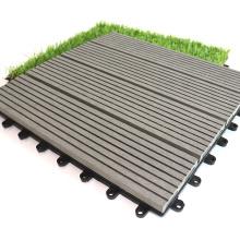 DIY Floor Tiles WPC Decking 300*300*22 mm Garden Product for Outdoor Garden Decoration