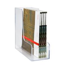acrylic Magazine File Holder Paper Book Storage Office Desk Organiser