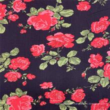 Ndonesia Breathable Custom Printed 100 Rayon Fabric