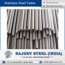 Tubo de acero inoxidable de calidad original altamente exigido disponible para la compra a granel