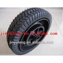 rueda sólida de 11x2.5 semi para carro de la herramienta