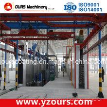 Aluminum Profile Overhead Chain Conveyor in Coating Line
