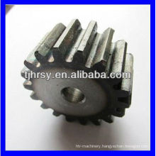 Hardend tooth gear