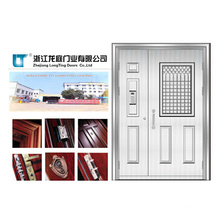 High Quality Son-Mother Stainless Steel Door (LTSS-6005)