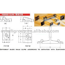 Elevator Guide Rail clips,elevator parts