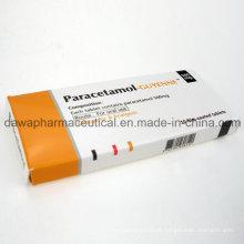 Bom efeito antipirético e analgésico com preço de fábrica comprimidos de paracetamol