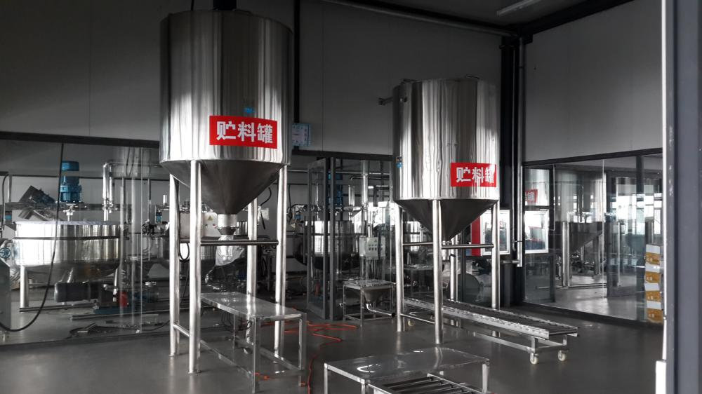 Stainless steel soybean paste storage tank