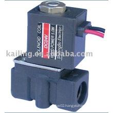 2/2 way solenoid valve with plastic body