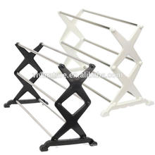 Portable 3 Tier Shoe Rack Space Saving Organizer Storage Shoes Holder