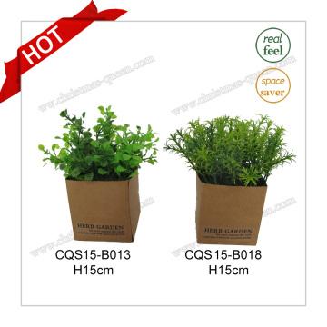 H15cm Пластиковые декоративные растения искусственный цветок для домашнего украшения