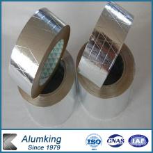 Feuille de feuille de verre en feuille d'aluminium