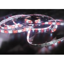 5050 60LED Branco + RGB 12V LED Faixa de Decoração