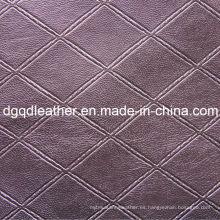 Moda acolchado decoración muebles de cuero (QDL-51379)