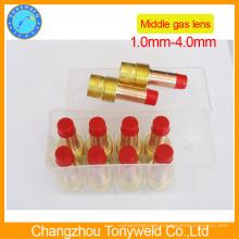Gas lens for tig