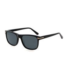 Fashion 1.1mm Polarized Lens Women Men Oversized Acetate Shades Sunglasses 2021