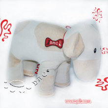 White Plush Organic Cotton Toy Cow