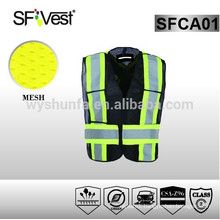 SFVEST new product safety equipment road safety product safety vest with many pockets