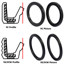 Combination with S-Type Seal Vc Vg Vcw Oil Seal