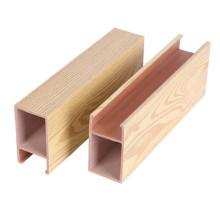 WPC roof faux wood ceiling panel, false design decorative roof ceiling tiles false ceiling for hall