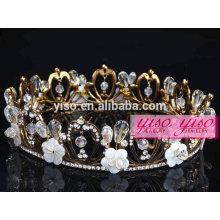 Joalheria de cabelo quente venda atacadista fantasia metal tiara
