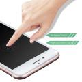 ¡Caliente! Protector de cristal moderado de la pantalla de la cubierta completa de la fibra de carbono 3D para iphone7