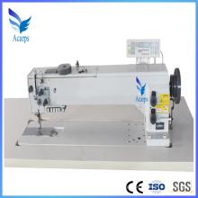 Máquina de costura de agulha única de braço longo