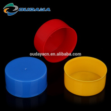 Inner diameter 45mm colorful plastic lids bottle screw caps with spout for bottle
