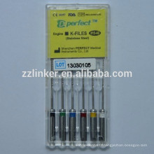 Moteur d'instrument dentaire assorti 25 mm Utilisez le fichier K