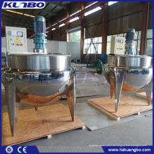 KUNBO 500L Industrieller Ummantelter Dampfkocher für das Kochen von Speisen